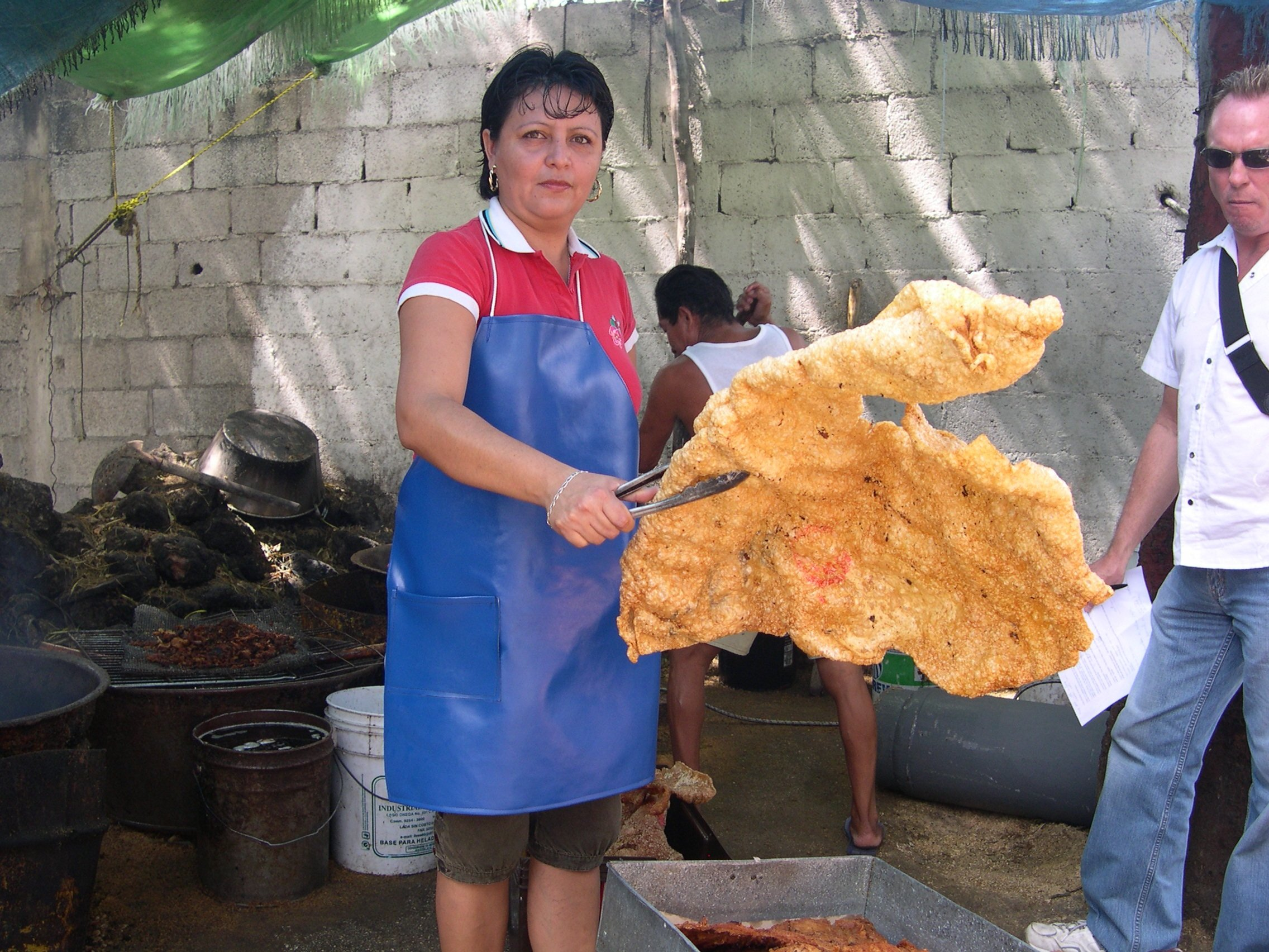 chicharron1 - Quite Big Pork Scratching!
