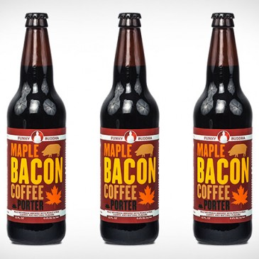 Maple Bacon Coffee Porter – Pork Scratching beer, of a kind!