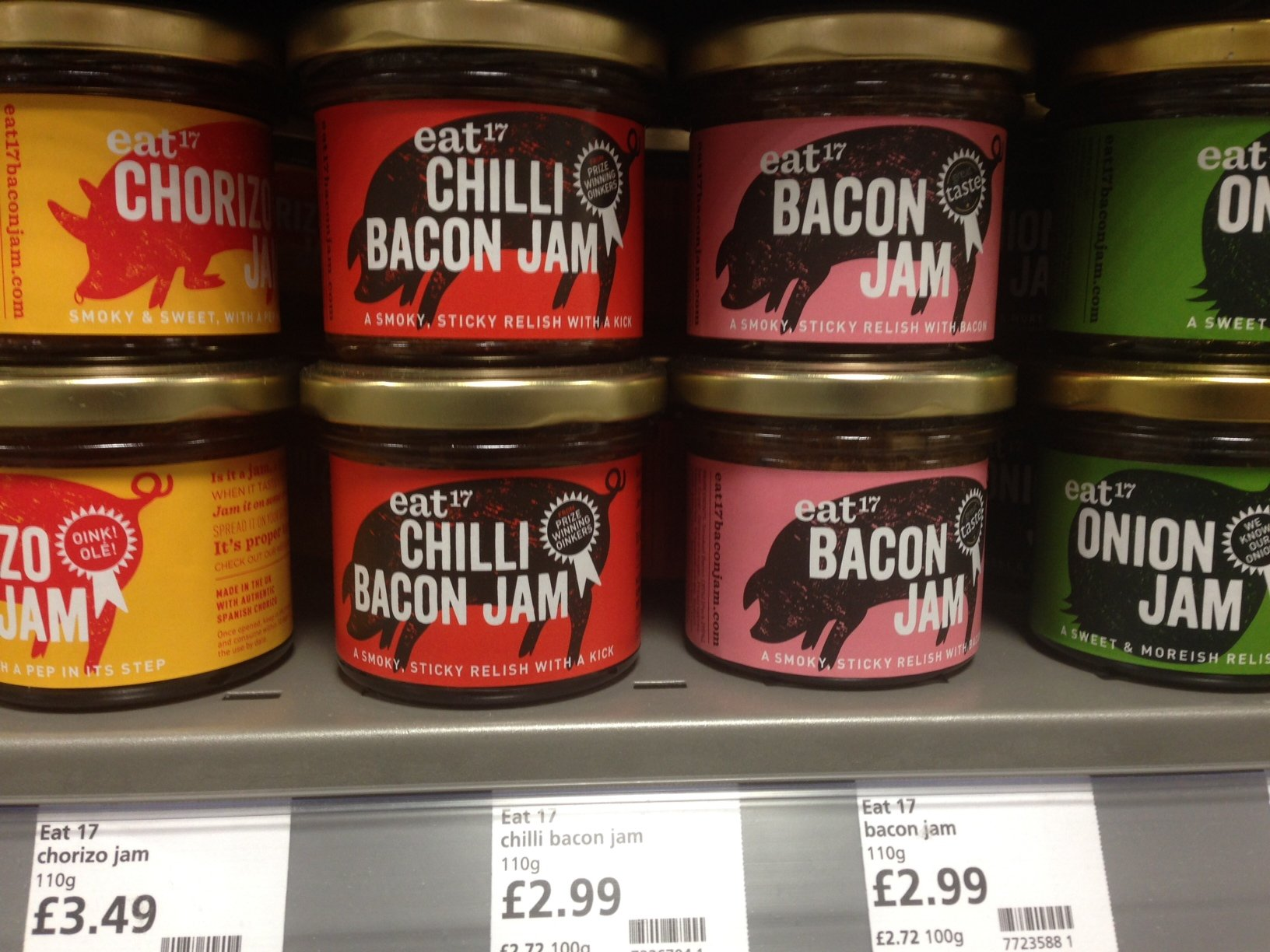 photo - Bacon Jam / Chilli Bacon Jam - From Waitrose