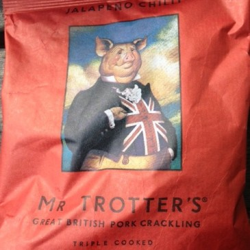 Mr Trotters Jalapeno Chilli Pork Scratchings