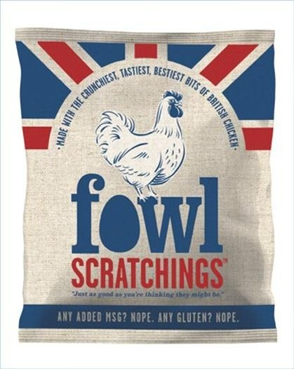 73126 fowlbag to print 1 - Fowl Scratchings, a snack made from chicken skin