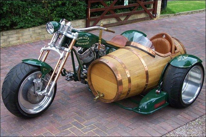 wpid beer barrel motorcycle sidecar 1 - Beer Barrel Motorcycle Sidecar