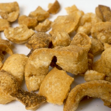 Scientists create healthy low-fat version of classic pork scratchings