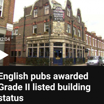 English pubs awarded Grade II listed building status
