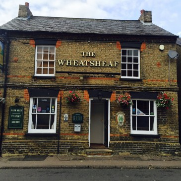 The Wheatsheaf pub biggleswade, review