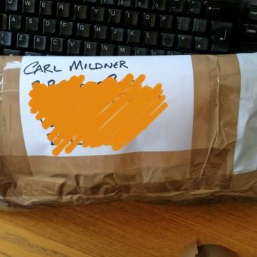 Special Delivery for Mr Mildner