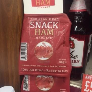 snack ham! #snack #ham