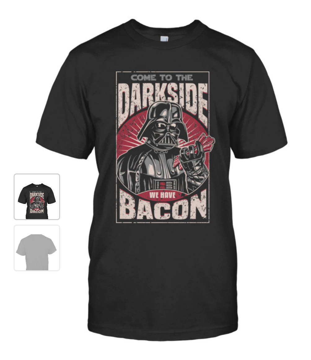 wpid 2015 10 21 20.14.37 1.png 1 - Baconvader tee shirt! #starwars
