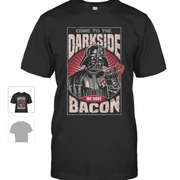 Baconvader tee shirt! #starwars