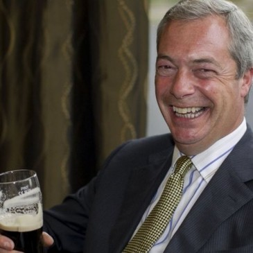 Nigel Farage urges 'mass protest' at alcohol guidelines