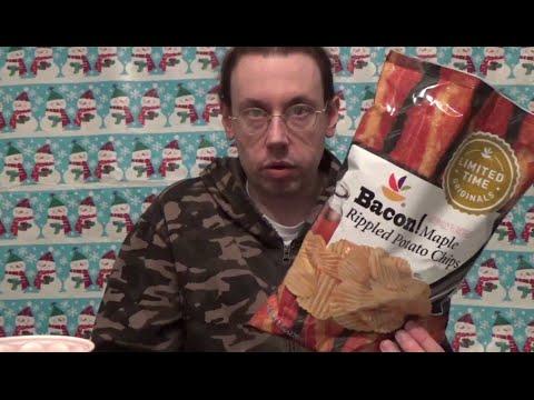 hqdefault 1 - Giant Stop & Shop Bacon! Maple Potato Chip Review