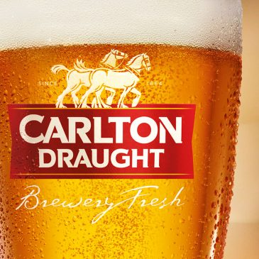 A nice advert for Carlton Draught, an Australian beer