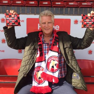 Win a year's supply of Walsall FC Pork Scratchings