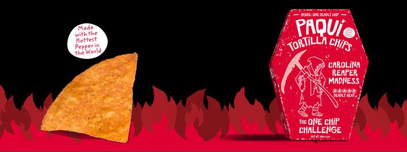PAQUI – Gourmet Tortilla Chips – #OneChipChallenge
