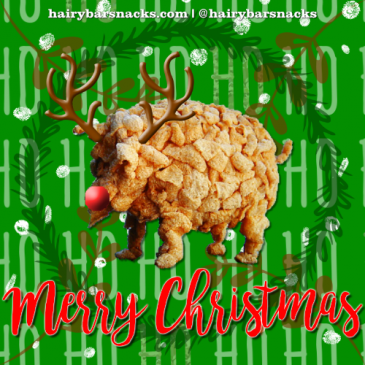 Merry Christmas from Hairy Bar Snacks