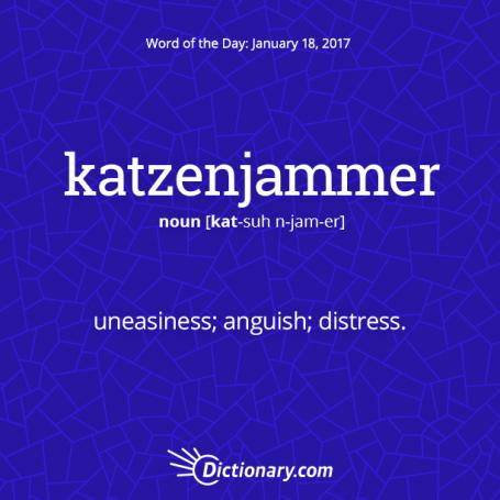 katzenjammer 1 - Get the Word of the Day - katzenjammer