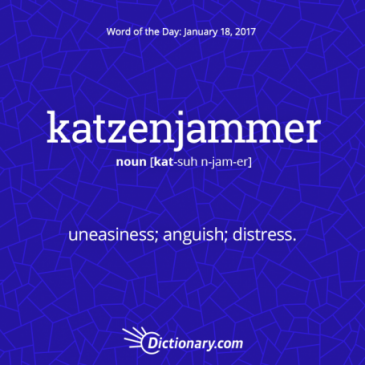 Get the Word of the Day – katzenjammer