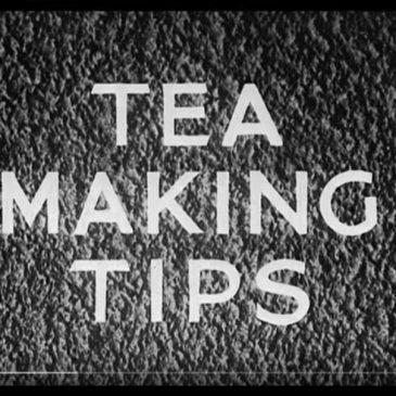 Tea Making Tips 1941