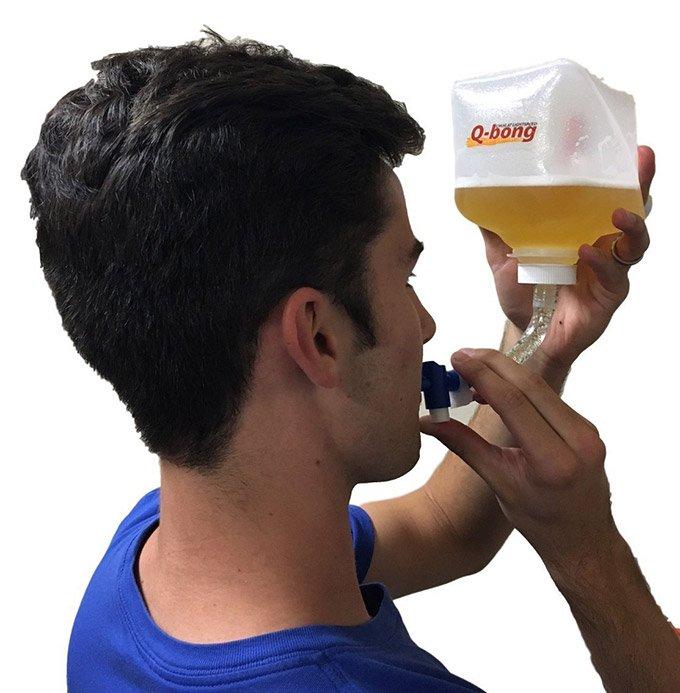 QBong Pressurized Beer Bong 2 - QBong Pressurized Beer Bong