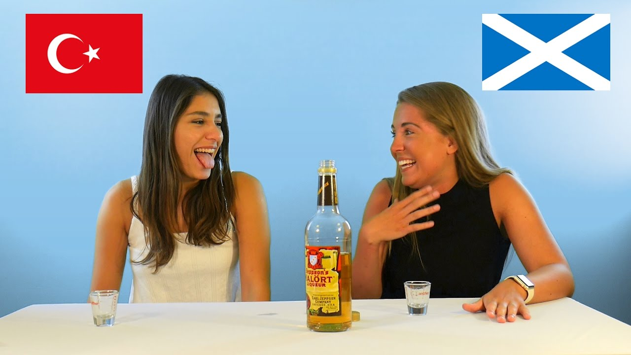 Different Nationalities Try Malort- The Worst Liquor Ever