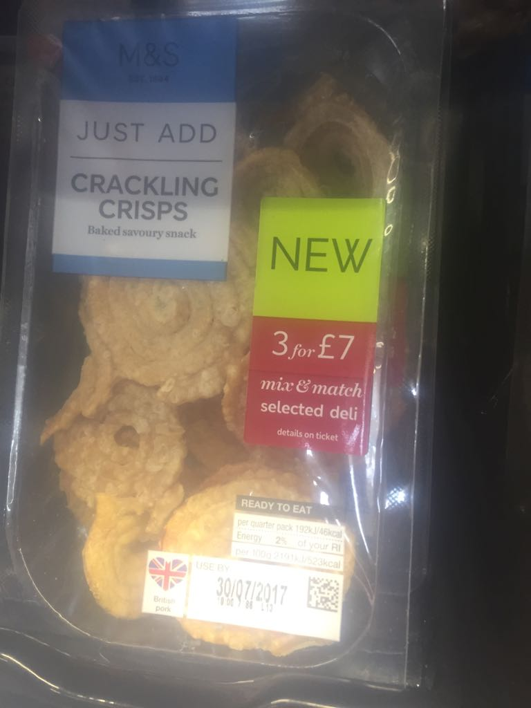 marks and spencer crackling crisps 1 - Marks & Spencer Crackling Crisps