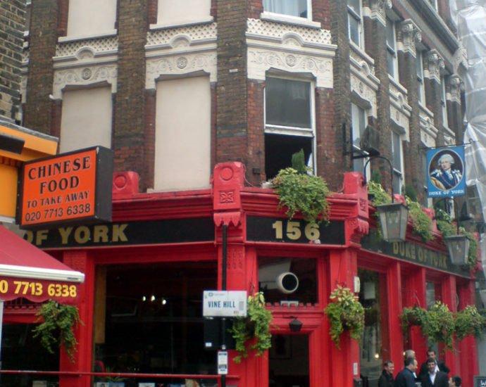 Duke of York Clerkenwell London Pub Review 690x550 - Duke of York, Clerkenwell, London - Pub Review