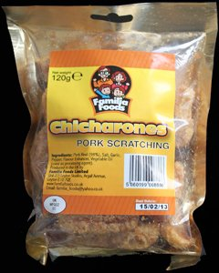 Familia Foods Chicarones Chicarones Review - Familia Foods, Chicarones Pork Scratching Review