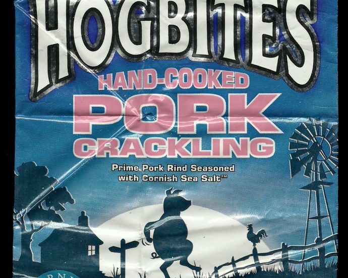 Hogbites Hand Cooked Pork Crackling Review 690x550 - Hogbites, Hand Cooked Pork Crackling Review