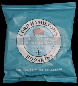 Lord Hamiltons Hogskins Sea Salt Particularly Fine Crackling Review 272x300 - Pork Scratching Bags