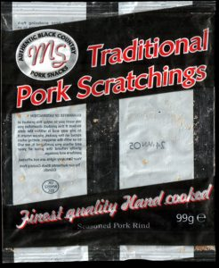 Midland Snacks Traditional Pork Scratchings Review 246x300 - Pork Scratching Bags