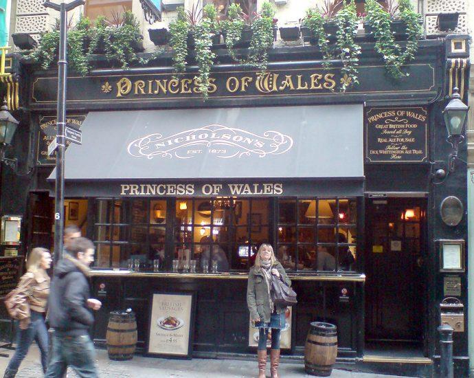 Princess of Wales Charing Cross London Pub Review 690x550 - Princess of Wales, Charing Cross, London - Pub Review