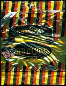 Ray Gray Scratchings Review 233x300 - Pork Scratching Bags