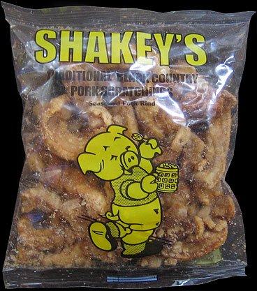 Shakeys Traditional Black Country Pork Scratchings Review - Shakey's, Traditional Black Country Pork Scratchings Review