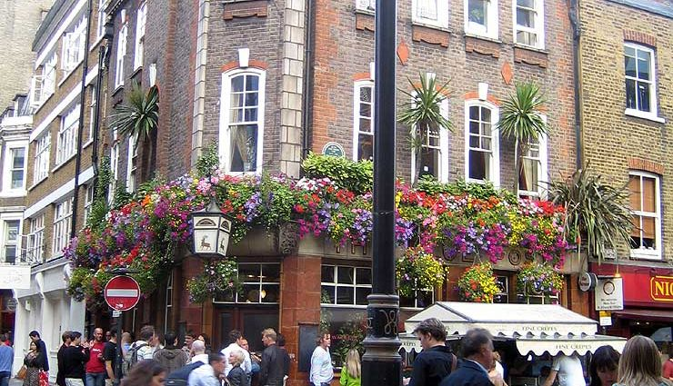 The Blue Posts Soho London Pub Review 740x425 - The Blue Posts, Soho, London - Pub Review