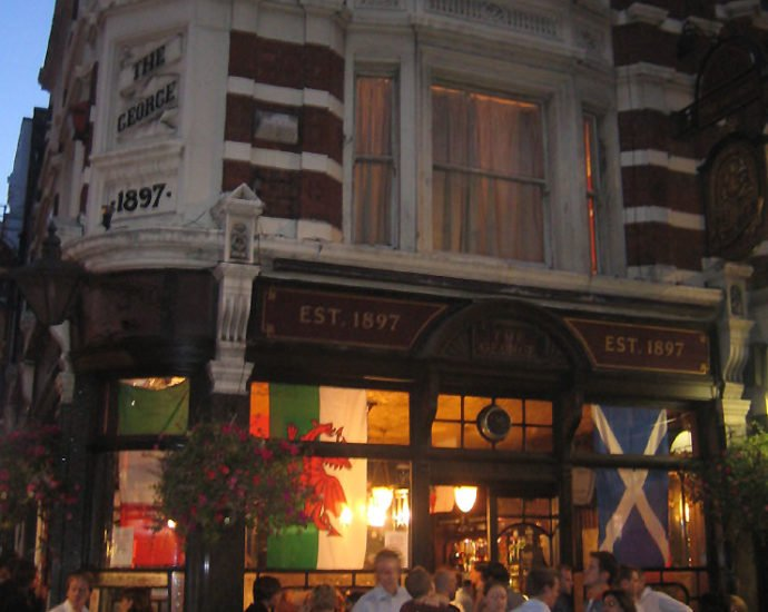 The George Soho London Pub Review 690x550 - The George, Soho, London - Pub Review