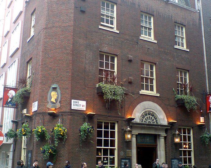 The Henry Holland Marylebone London Pub Review 690x550 - The Henry Holland, Marylebone, London - Pub Review
