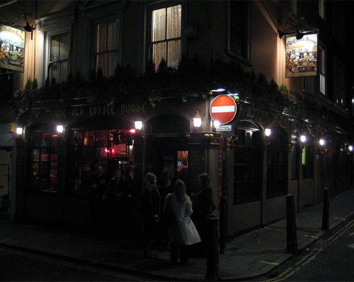 The Old Coffee House Soho London Pub Review 690x550 - The Old Coffee House, Soho, London - Pub Review