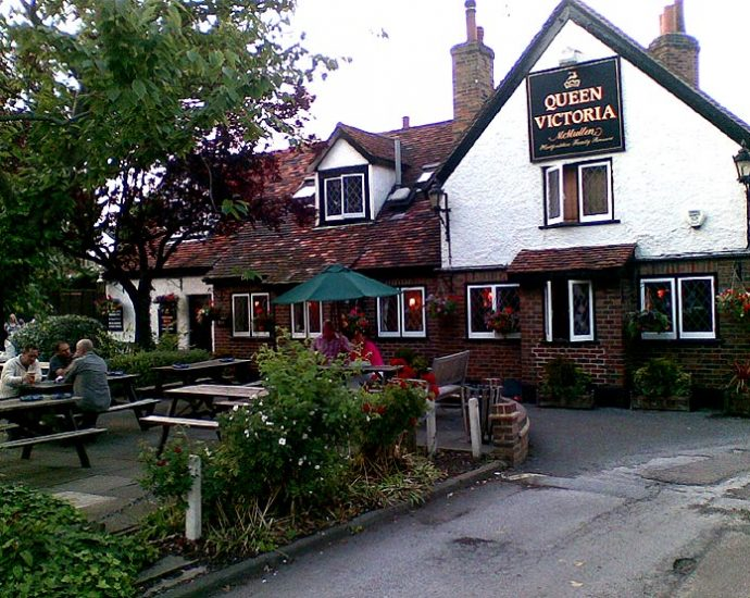 The Queen Victoria Theydon Bois Essex Pub Review 690x550 - The Queen Victoria, Theydon Bois, Essex - Pub Review
