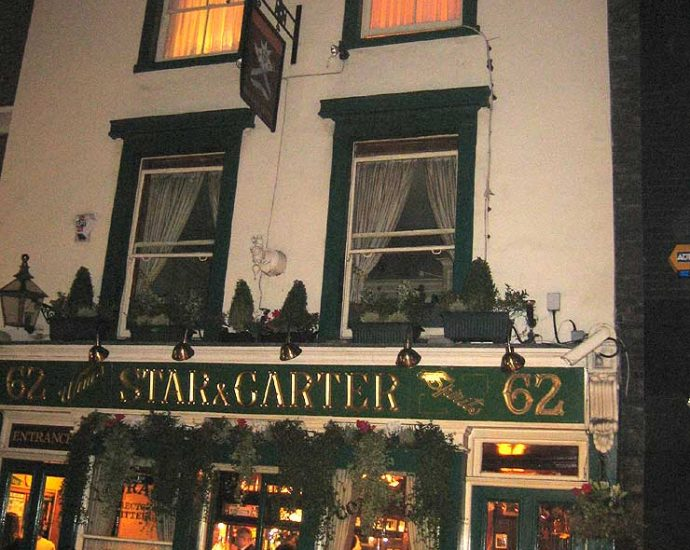 The Star and Garter Soho London Pub Review 690x550 - The Star and Garter, Soho, London - Pub Review