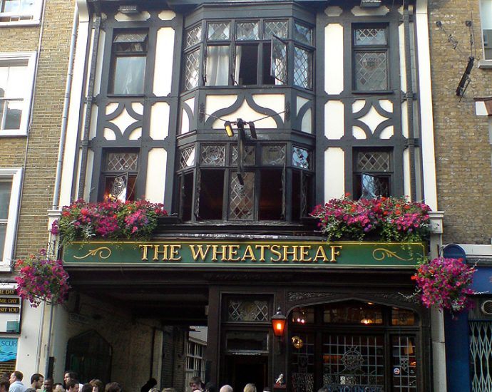 The Wheatsheaf Soho London Pub Review 690x550 - The Wheatsheaf, Soho, London - Pub Review