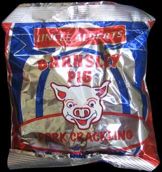 Uncle Alberts Barnsley Pig Pork Crackling Review - Uncle Alberts, Barnsley Pig, Pork Crackling Review