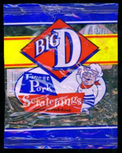 Big D Clear Bag Finest Pork Scratchings Review 238x300 - Pork Scratching Bags