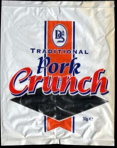 D S Foil Pack Traditional Pork Crunch Review 236x300 - Pork Scratching Bags