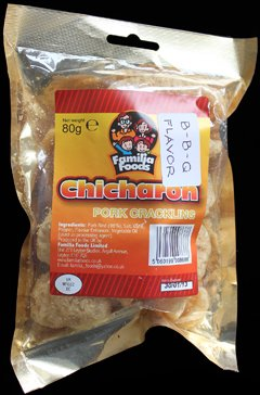 Familia Foods Chicarones BBQ Flavour Pork Crackling Review - Familia Foods, Chicarones, BBQ Flavour Pork Crackling Review