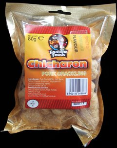 Familia Foods Chicarones Spiced Vinegar Flavour Pork Crackling Review - Familia Foods, Chicarones, Spiced Vinegar Flavour Pork Crackling Review
