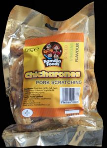 Familia Foods Chicarones Spiced Vinegar Flavour Pork Scratchings Review 217x300 - Pork Scratching Bags