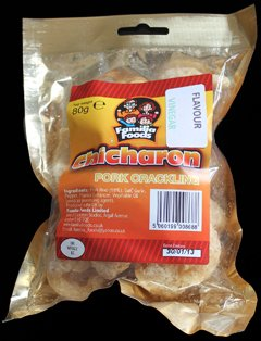 Familia Foods Chicarones Vinegar Flavour Pork Crackling Review - Familia Foods, Chicarones, Vinegar Flavour Pork Crackling Review