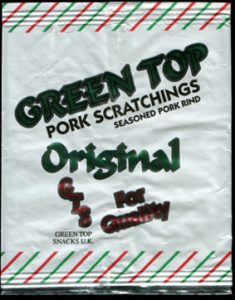 Green Top Snacks Original Pork Scratchings Reviewb 235x300 - Pork Scratching Bags
