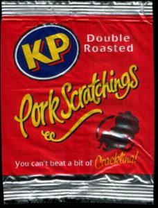 KP Double Roasted Pork Scratchings Review 228x300 - Pork Scratching Bags