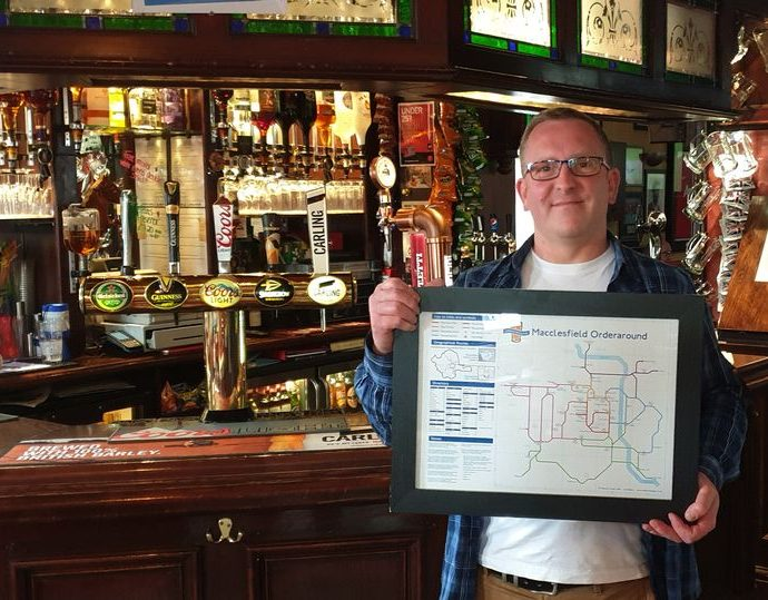 0 JS186012565 690x539 - Macclesfield's pubs immortalised on London Underground-style map